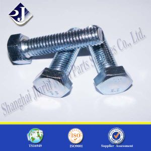 Cap Screw Hex Bolt (Zinc Plated) pictures & photos