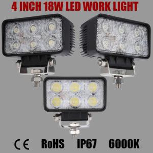 4inch 18W Waterproof Offroad Bridgelux LED Wrok Light