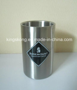 1.6L Double Wall Stainless Steel Bacardi Ice Bucket pictures & photos