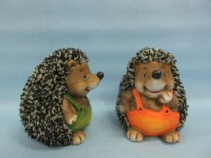 Hedgehog Shape Ceramic Crafts (LOE2537-C13.5) pictures & photos