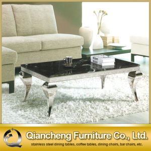 Black Stone Square Coffee Table pictures & photos