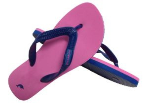 Customized Doulbe Colors Rubber Strap Flip Flops pictures & photos