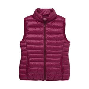 Factory Price Men′s Winter Custom Down Vest pictures & photos