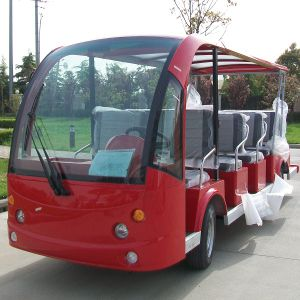 14 Seats Four Wheel Electric Passenger Vehicle (DN-14) pictures & photos