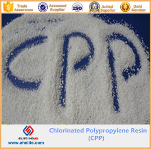 White Powder Chlorinated Polypropylene Resin CPP Resin pictures & photos