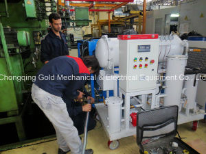Jt-20 20L/H Coalescing Dehydration and Separation Turbine Oil Purifier pictures & photos