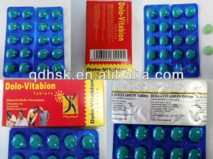 Vitamin B Complex Tablets pictures & photos