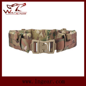 Molle Tactical Gear Waist Belt Military Soft Belt pictures & photos