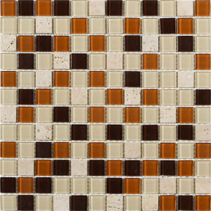 Crystal Glass Mosaic for Hotel Decoration Project pictures & photos