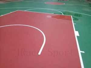 Safety and No-Toxic Seamless Basketball Coating pictures & photos