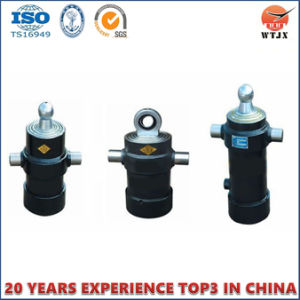 Underbody Telescopic Hydraulic Cylinders for Truck Cylinder Side Dump pictures & photos