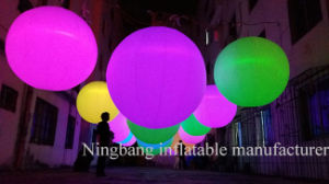 Ningbang Party Decoration Air Balloon Inflatable Ball with LED Lighting pictures & photos