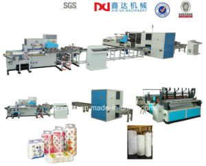 Full Automatic Toilet Tissue Paper Rolls Production Line Suppliers pictures & photos