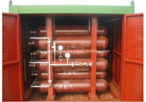 Cnp20 80L 25MPa Type Cylinder Cascade Series CNG Gas Cylinder pictures & photos