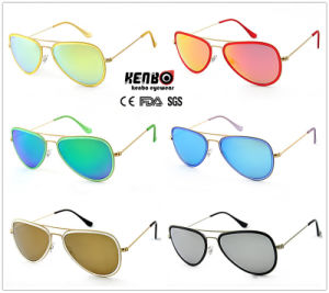 Hot Sale Metal Sunglasses with Stainless Steel Frame CE, FDA pictures & photos