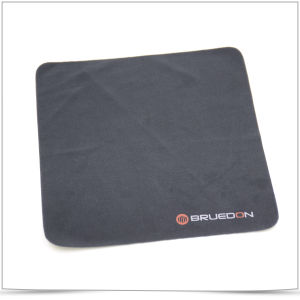 Black Soft Screen Printing Microfiber Cleaning Cloth for Eyeglasses pictures & photos