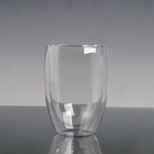 360 Ml Double Wall Glass Coffee Cup pictures & photos