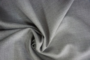 Wool Fabric Plain Weave for Suit