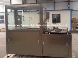 Automatic Glass Bottle Ultrasonic Washing Machinery with Fillling Capping Line pictures & photos