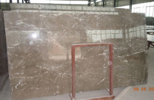 Armani Brown Marble, Polished Marble Tile Flooring pictures & photos