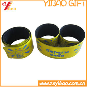 Promotion Custom Printed Silicone Slap Wristband (YB-SL-01) pictures & photos