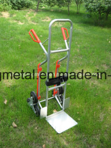 Aluminum Stair Climber Hand Truck Dolly Heavy Duty 550lb Capacity pictures & photos