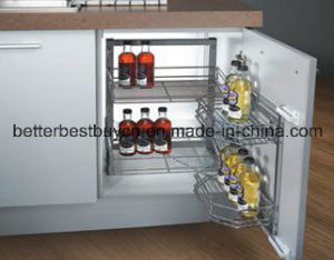 High Gloss Cheap Price Lacquer Kitchen Cabinet pictures & photos