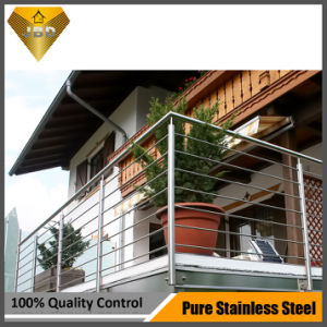 Stainless Steel Stair Balcony Balustrade for Project Design (JBD-B002) pictures & photos