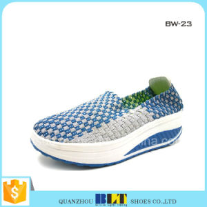 Flat Casual Woven Shoes Ladies pictures & photos