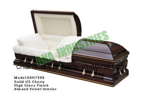 Wood Casket (ANA) for Funeral Product pictures & photos