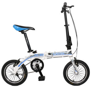 2015 New Fashion 14′′ Wheel Size Folding Bicycle Aluminum Alloy Folding Bike pictures & photos