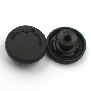 Black Metal Jeans Button Brush Rubber pictures & photos