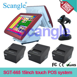 All in One Retail POS Terminal System / LCD Screen (SGT-665) pictures & photos