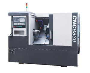 CNC6830-35 Degree Linear Guide Slant Bed CNC Lathe pictures & photos