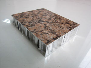 Stone Look Architectural Aluminum Honeycomb Panels pictures & photos