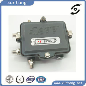 Full Power-Passing CATV Splitter&Taps Outdoor/Indoor pictures & photos