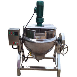 SUS 304 Tiltable Jacketed Kettle with Mixer pictures & photos