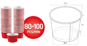 Paper Cup Sleeve Machine pictures & photos
