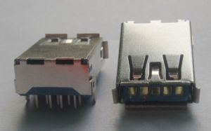 USB 3.0 Connector, Famle Reverse Type pictures & photos