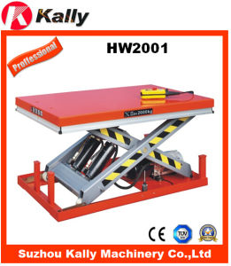 Hydraulic Scissor Lifting Equipment Lifting Table (HW2001)