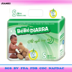 Dry Soft Surface Disposable Baby Diapers with Elastic Waistband pictures & photos