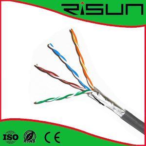 Foil Shield Cat5e Cable/PVC CE pictures & photos