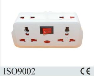 Factory Wholesale UK Plug Agaptor with Switched Socket pictures & photos