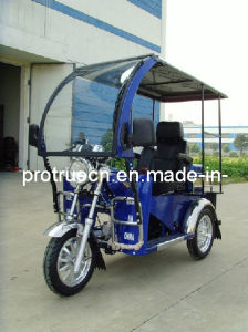Handicapped Tricycle with Front Glass Assy/Three Wheel Motorcycle (DTR-3) pictures & photos