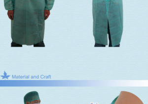 Disposable Medical Supply Non Woven Clothes for Doctors pictures & photos
