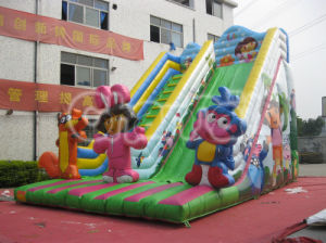 2015 New Giant Inflatable Dry Slide/Kids Slides for Sale Chsl240 pictures & photos