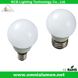 Energy Saving Aluminum LED Dimmable Light /Lamp/ Bulb (3W E27)
