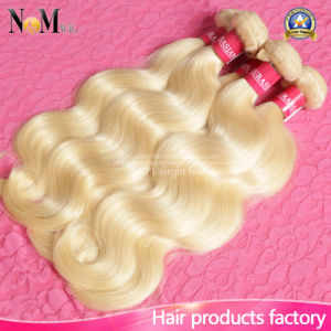 Remy Blonde Brazilian Human Hair / Keratin Blonde Russian Hair pictures & photos