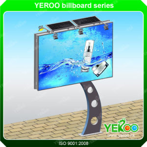 Solar Advertising Mupis Cheap and Quality Large Pole Billboard Outdoor pictures & photos
