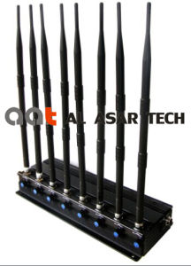 8 Band Desktop Indoor Power Adjustable Mobile Signal Jammer pictures & photos